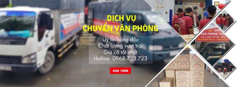 Dịch vụ chuyển văn phòng trọn gói giá rẻ quận Hoàng Mai