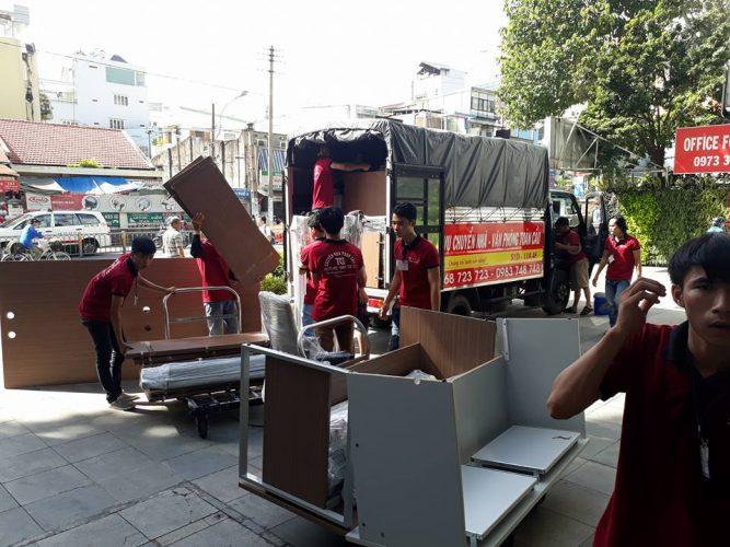 Dịch vụ chuyển nhà tại Phúc Thọ
