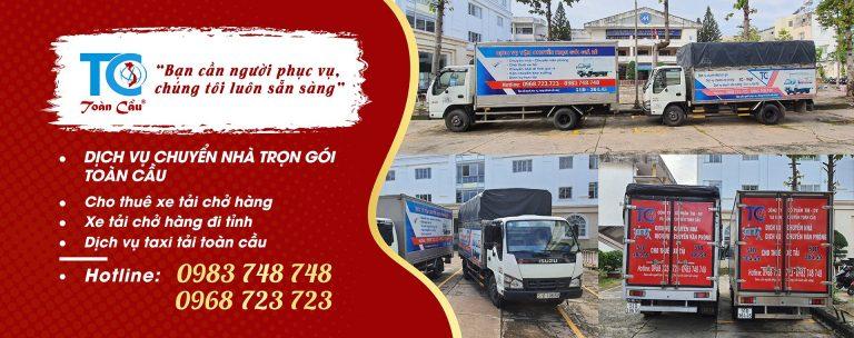 Toàn cầu chuyên cung cấp dịch vụ vận chuyển đồ đạc Tphcm